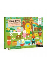 (Pre Order ) Petit Collage -Magnet Play Scene Treehouse Party