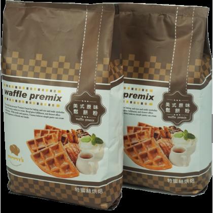【Ready Stock】台湾 Tommy's Baking 美式原味鬆餅粉 Waffle Premix